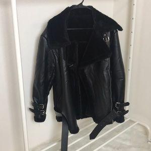 Oversized Moto Jacket